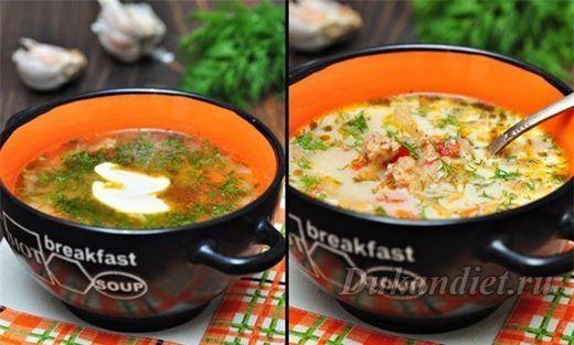 Суп «Чехословацкий» | Диета Дюкана