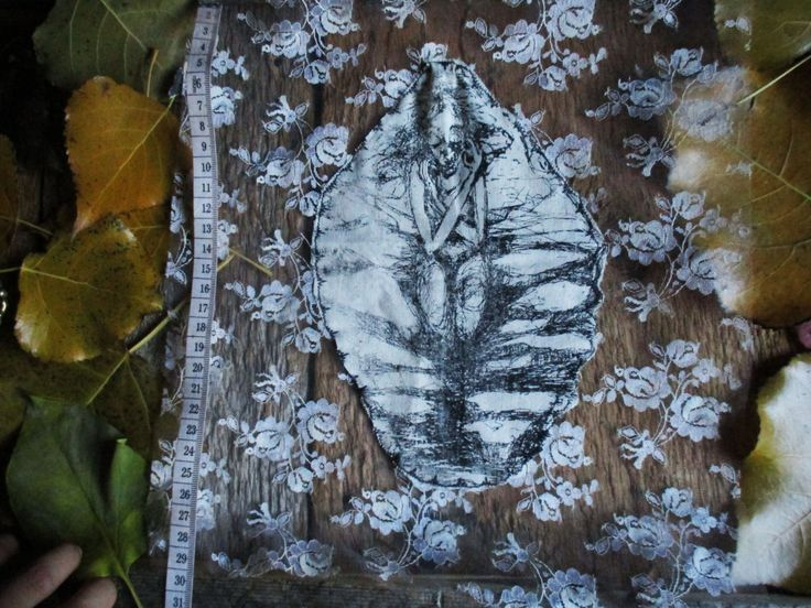"""Translucent Lace """"River Break"""" Back Patch by PeachMoonDIY on Etsy"""