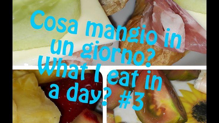 Tag - Cosa mangio in un giorno? What I eat in a day? #3 - Cornettini Day
