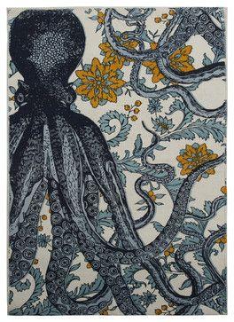 Octopus Vineyard Bath Mat bath-mats