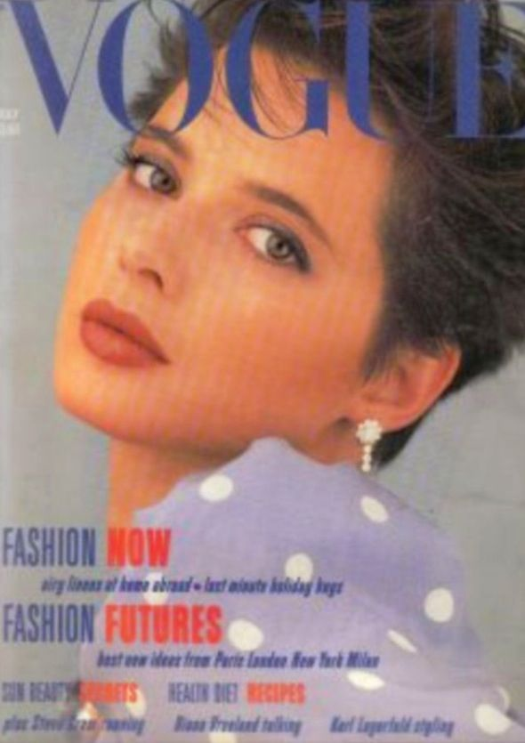 Isabella Rossellini covers Vogue magazine ( United Kingdom ...