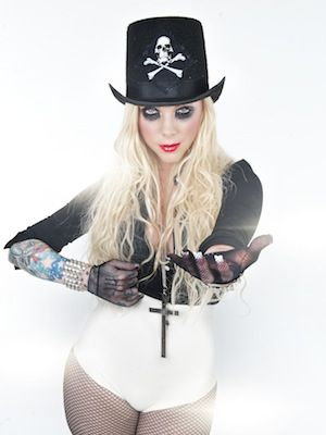 Maria Brink-In This Moment singer Maria Brink has become one of modern metal's most popular females. It's easy to see why Brink is beloved just by looking at her, but to In This Moment fans, Brink is much more than just a stunning beauty.  Perhaps the frontwoman's most notable talent is her ability to augment and diminish a lyrical pitch.