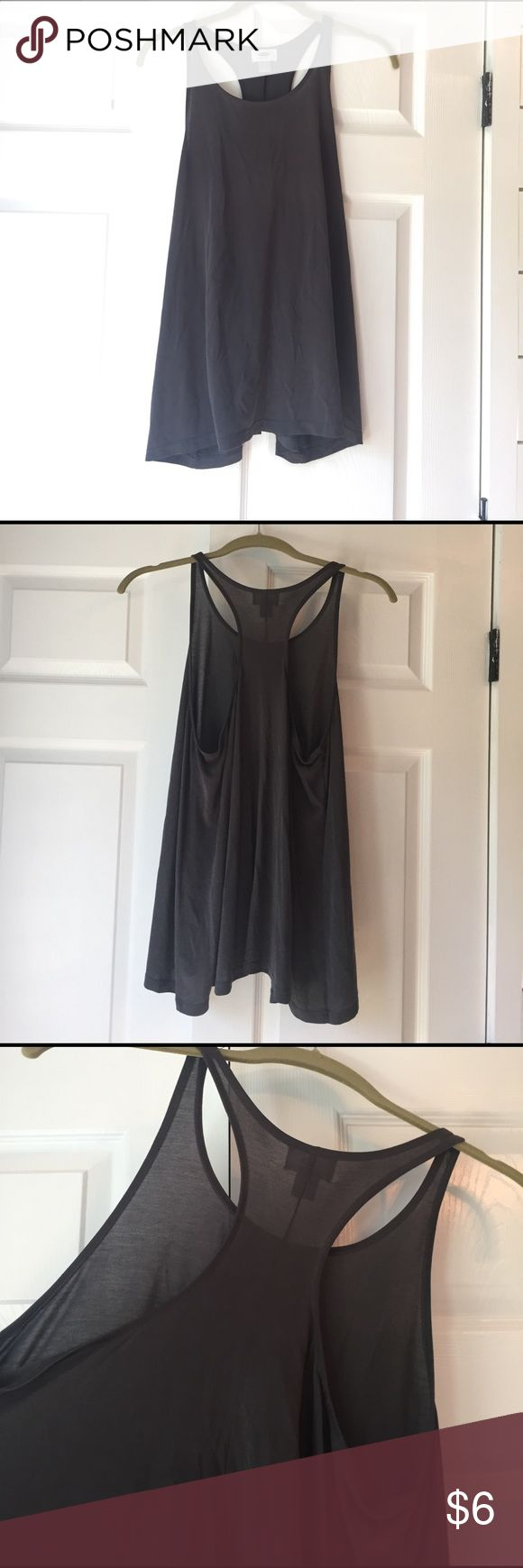 Hi-low loose tank top Soft material. Very loose. Thin fun for summer. Hi-low. Old Navy Tops Camisoles