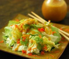 Nibble Me This: Ginger Salad Dressing ala Japanese Steakhouses