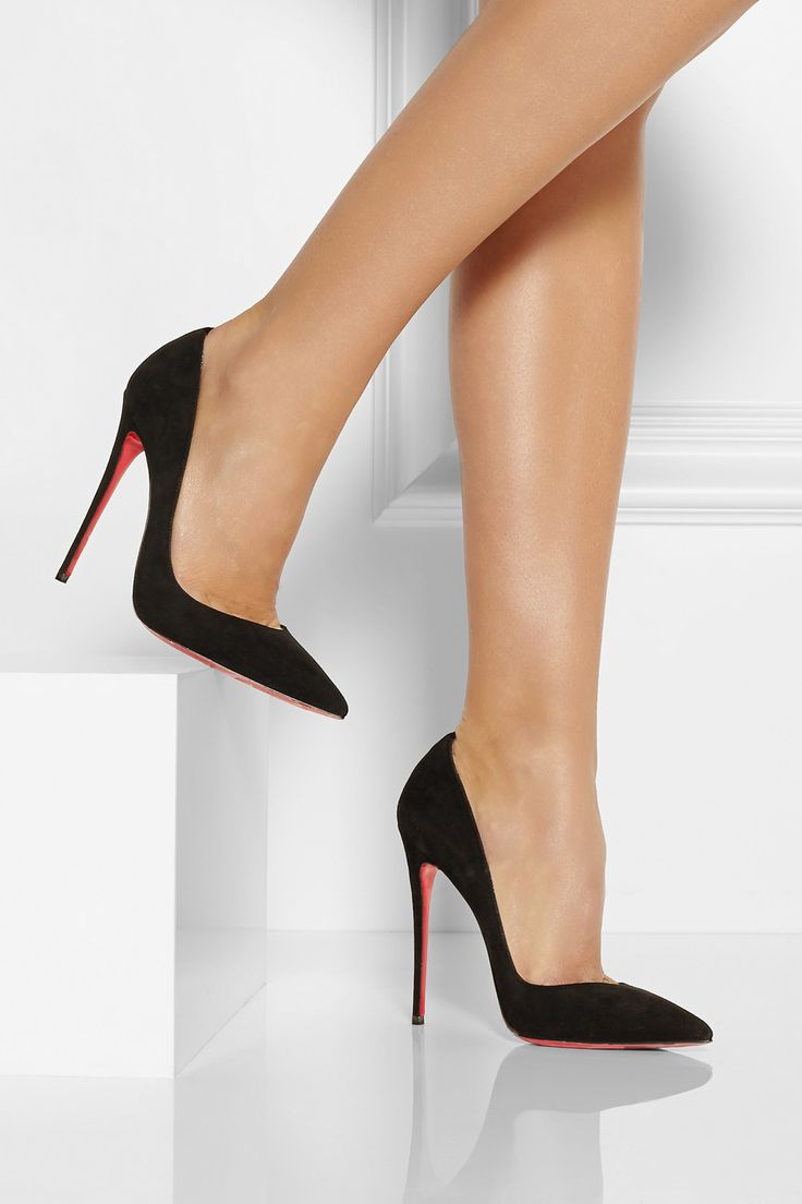 louboutin spiked sneakers - Would you ever need another pair of black pumps after these ...