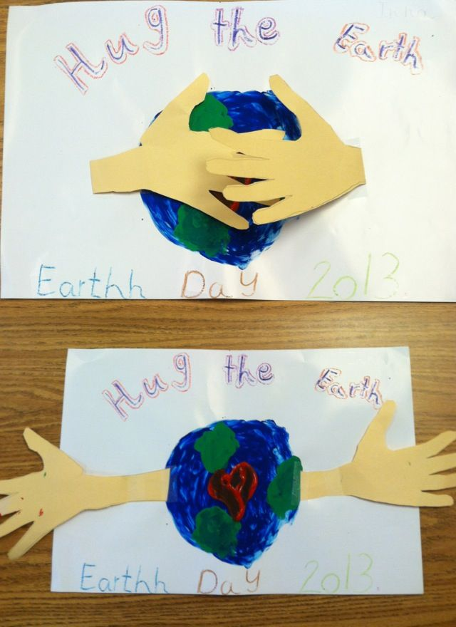 Earth day craft! Cute!