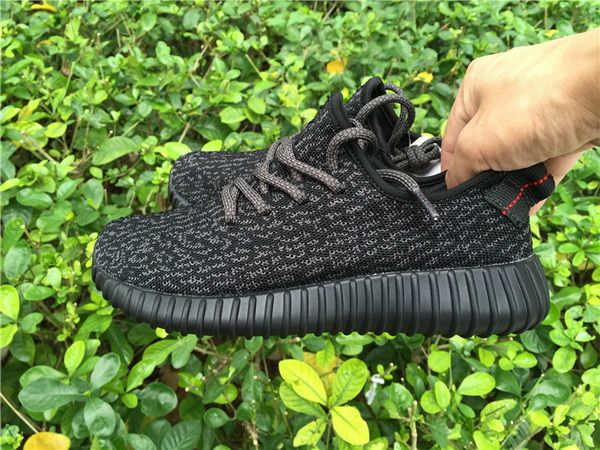Authentic Adidas Yeezy 350 Boost Black GS