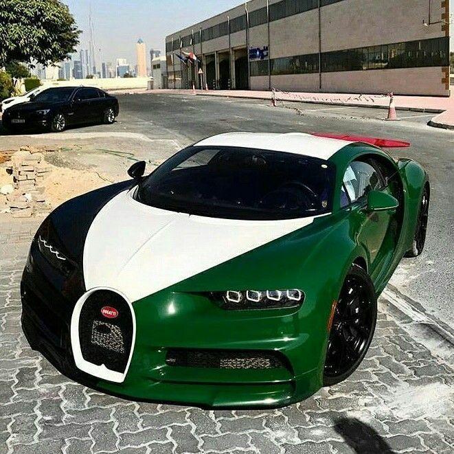Bugatti Chiron on UAE wrap Z_litwhips #Bugatti