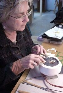 Precious Metal Clay expert, Nancy Miller offers great classes in NY