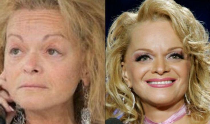 Знаменитости без макияжа: 20 шокирующих фото