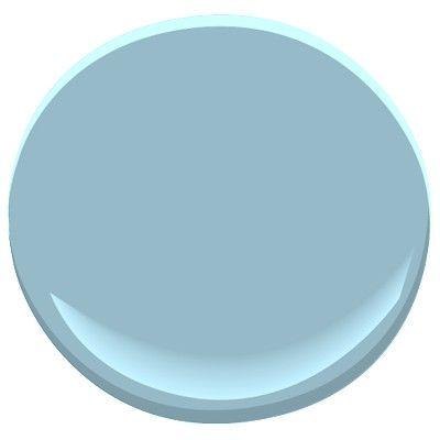 Marlboro Blue (HC-135): Benjamin Moore: paint color for porch ceiling
