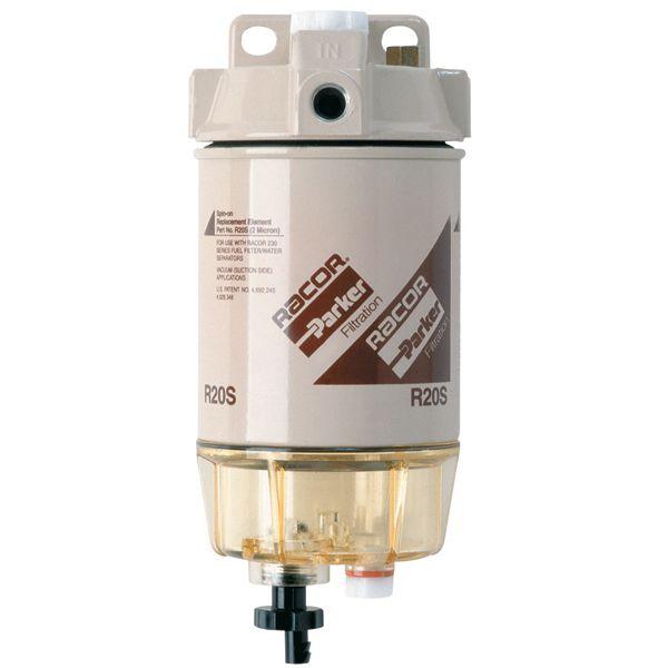 230R2 Spin-On Series Diesel Fuel Filter/Water Separator