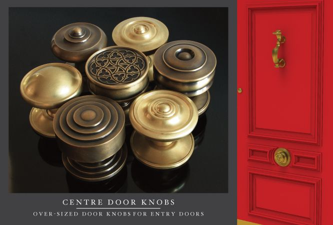 Center Oversized Door Knobs At Sa Baxter Hardware