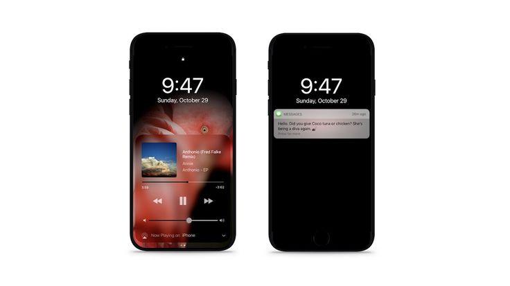 Cum ar putea arăta modul Dark Mode pe iOS 11 și iPhone 8 cu ecran OLED