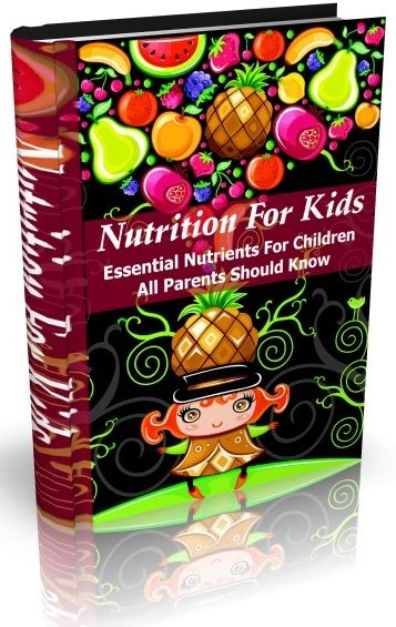 Understanding The Proper Nutrition For Your Kids Is So Important!     This powerful tool will provide you with everything you need to know to be a success and achieve your goal of healthier kids.