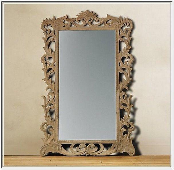dark wood frame mirror mirror home interior ideas mxlldo9lq7