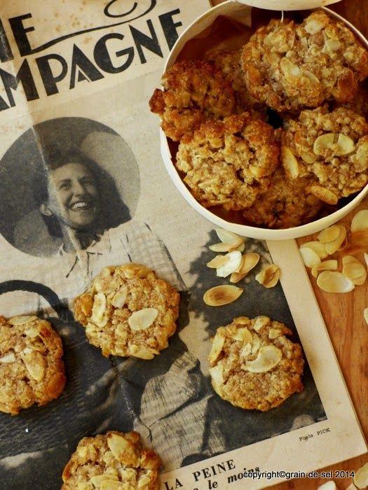 grain de sel - salzkorn: kurios wie das Leben - Honig-Dinkel-Cookies