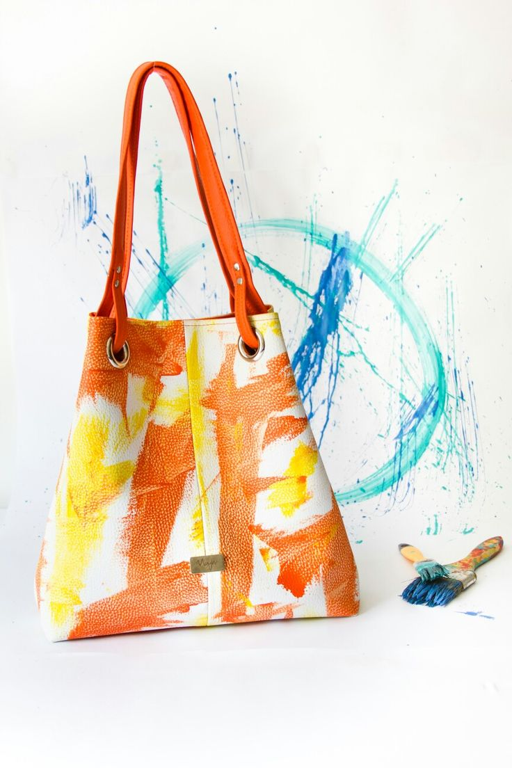 Bolsos pintados a mano @mayheaccesorios