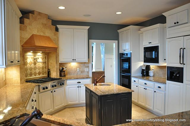 Kitchen Colors With White Cabinets Moore Mountain