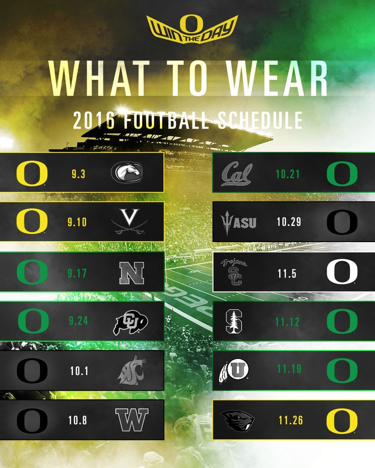 What to Wear to Oregon Football Games - GoDucks.com | The University of Oregon Official Athletics