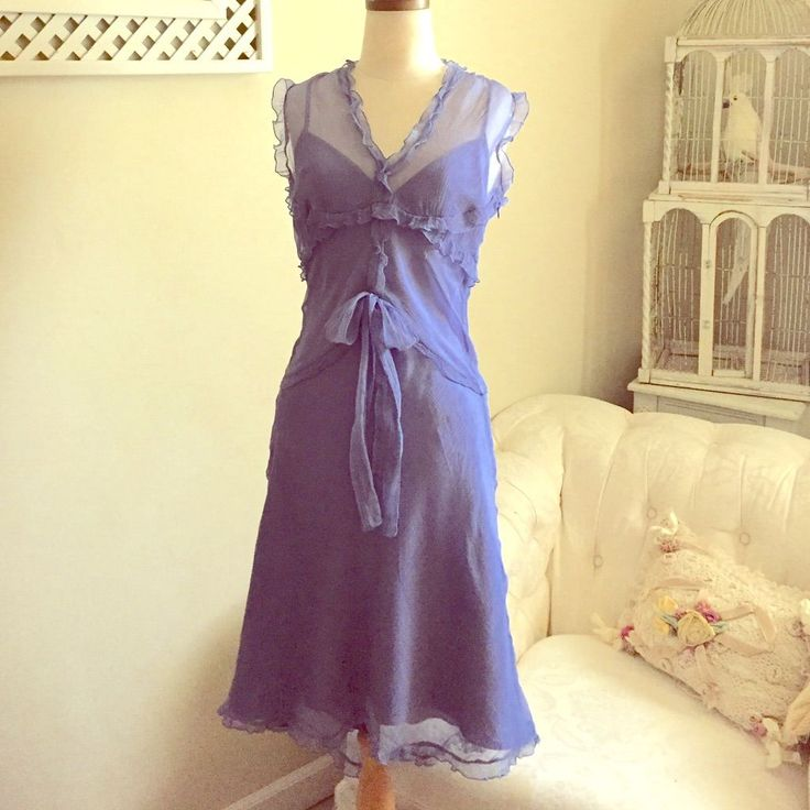 Final Clearance Price Periwinkle Blue Dress