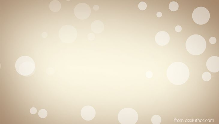 Bubble Background PSD - cssauthor.com