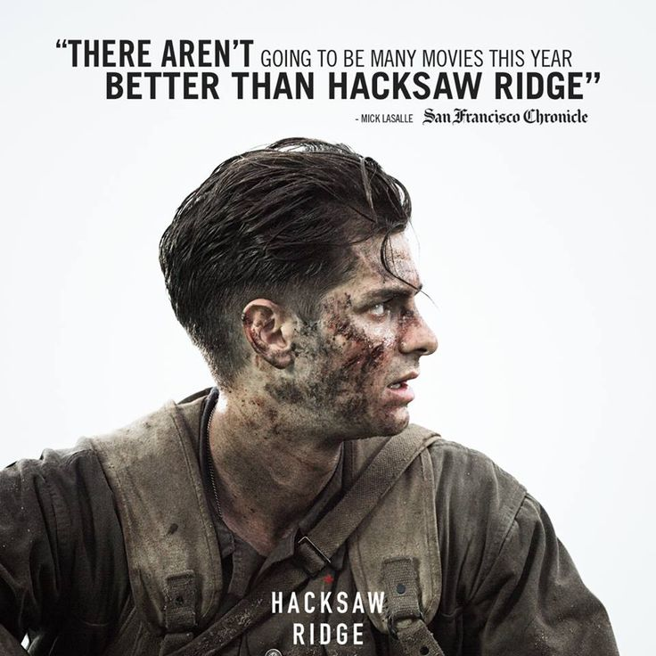 See the film that has critics raving. #HacksawRidge arrives in theaters November 4!