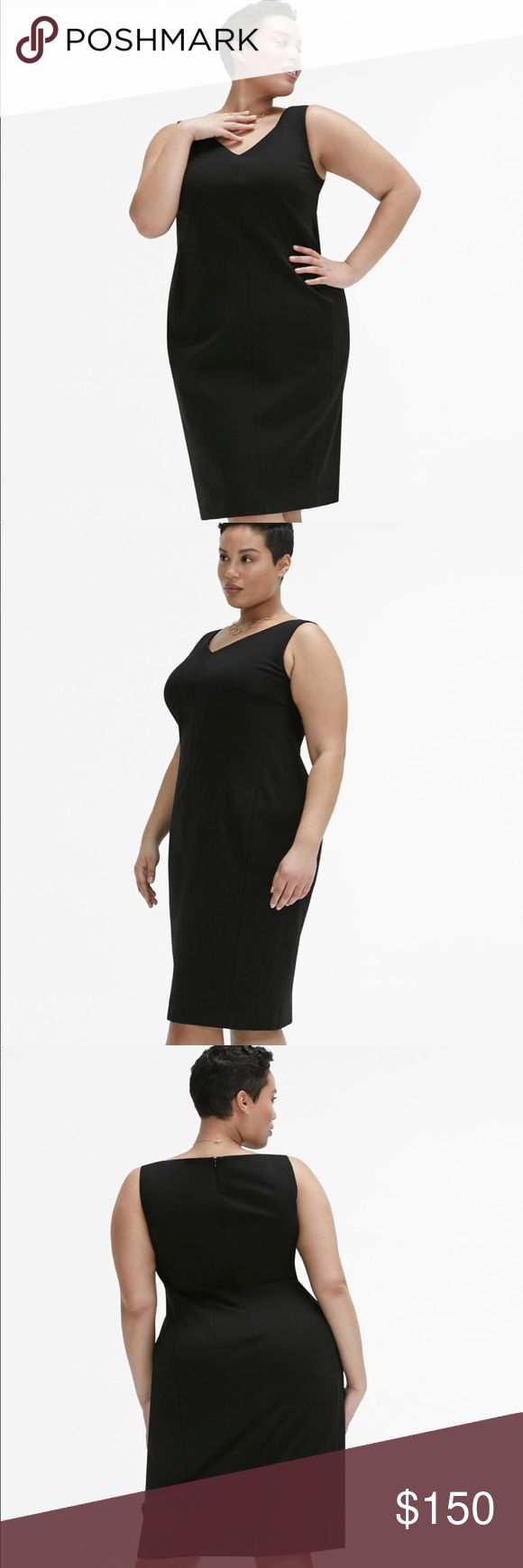 MM LaFleur Rachel Dress This versatile sheath packs a punch. Strategically placed seams create a smooth silhouette that looks sharp from morning 'til night. Wear it under a jacket for meetings, or on its own for post-work cocktails.  Fit Tips: Hips-friendly, Tall-friendly  65% Viscose, 30% Nylon, 5% Elastane Dry clean only. Iron if needed. MM Lafleur Dresses Midi