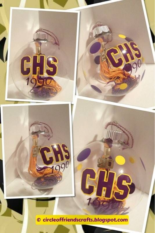 Photo on DIY / Great idea to repurpose those senior tassels you'll just put away in a box!!