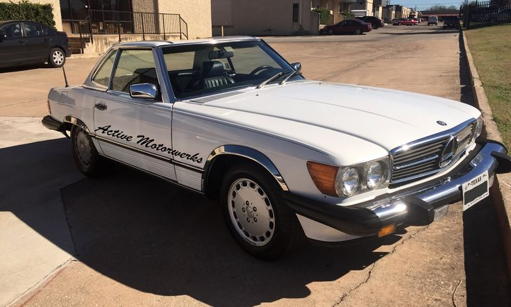 1987 #Mercedes #560SL successfully saved another #classic #mercedesbenz #austin #vantage
