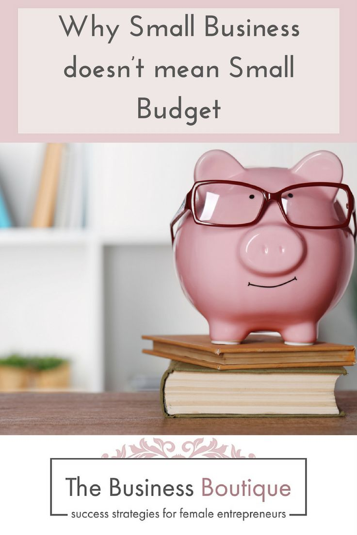 The Business Boutique | Blog Budgeting. Yuck, no thanks. Actually, you already do, every time you buy something.  Running a business on a small budget – you sure can. Here's how.
