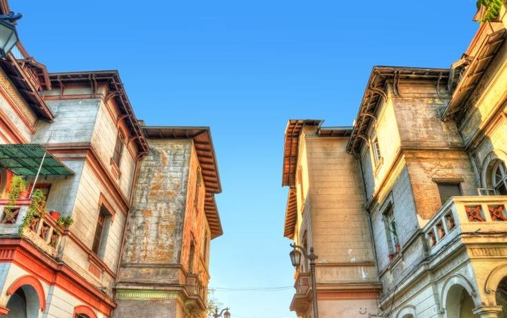 Barrio Yungay (Santiago Centro).