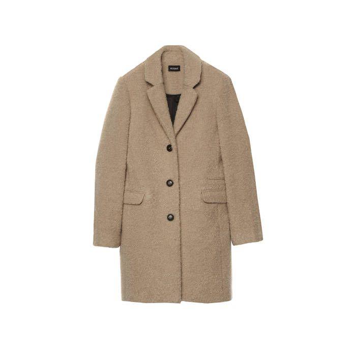 Manteau femme Kookaï - 40 manteaux pour passer l'hiver au chaud  - Elle