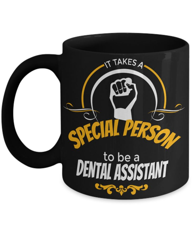 Dental Assistant Gifts For Women or Men - Funny Dental Assistant Graduation Gifts - Dental Assistant Mug - It Takes A Dental Assistant To Be A Dental Assistant  #anniversarygifts #yesecart #giftsforhim #gift #gifts #quoteoftheday #customgift #quote #coffee #christmasgift