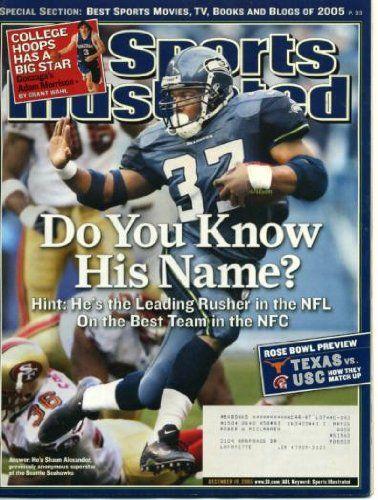 Shaun Alexander Seattle Seahawks Publications