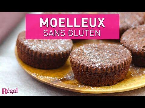 Moelleux au chocolat noir sans gluten – Recette | Régal