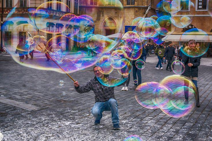The master of bubbles - Der Meister der Seifenblasen