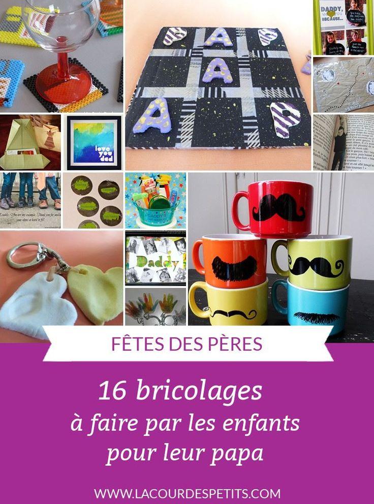 156 best bricolage f te des p res images on pinterest. Black Bedroom Furniture Sets. Home Design Ideas