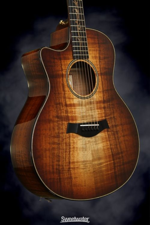 Taylor K26ce Left Hand - AA Top, Shaded Edge Burst, Left-handed | Sweetwater.com