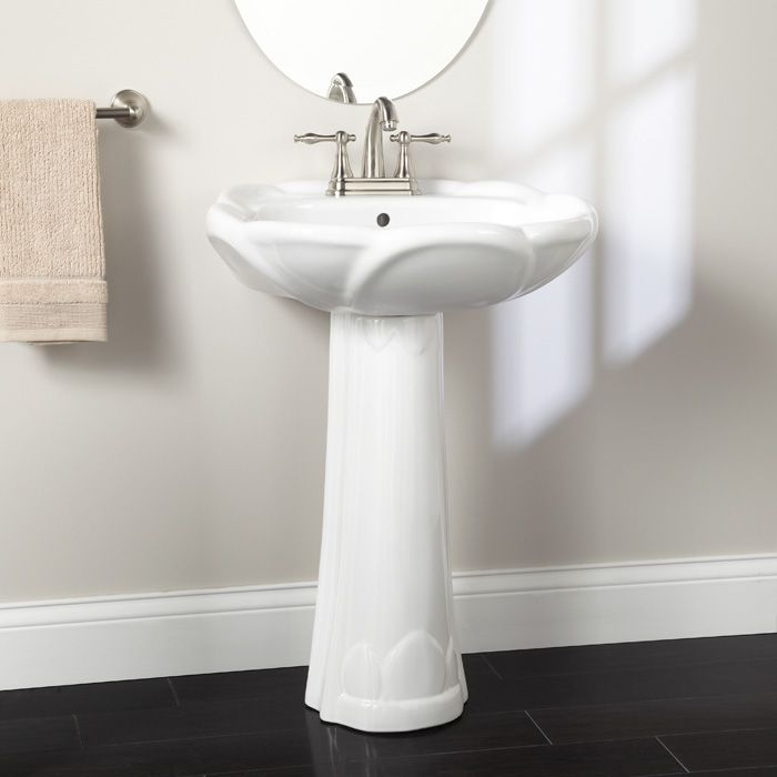 Ionia Pedestal Sink with 4 Centers