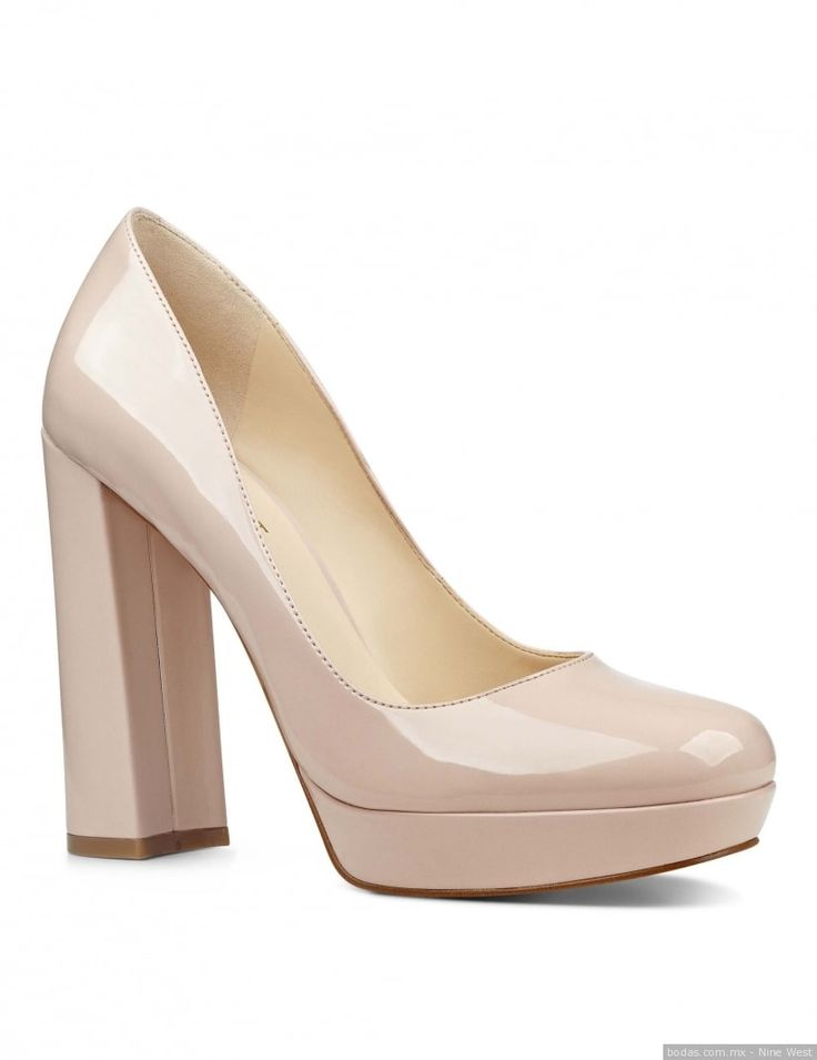 Zapatos para novia  ¡Mira más aquí!  Bodas.com.mx  Nine West//  #wedding #shoes #nudeshoes #bodas