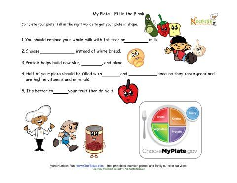 Nutrition Worksheet Essay