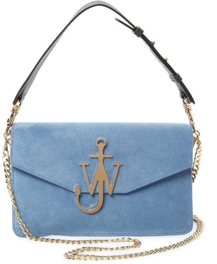 21ea48c12849b J.W. Anderson Women s Leather Logo Buckle Crossbody Bag