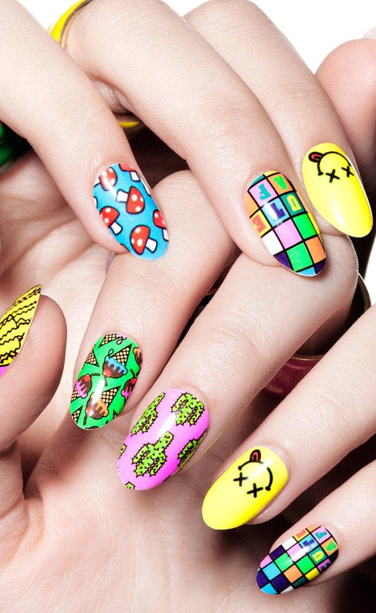 Cute A.F., nail wrap, Steph Stone, celebrity manicurist