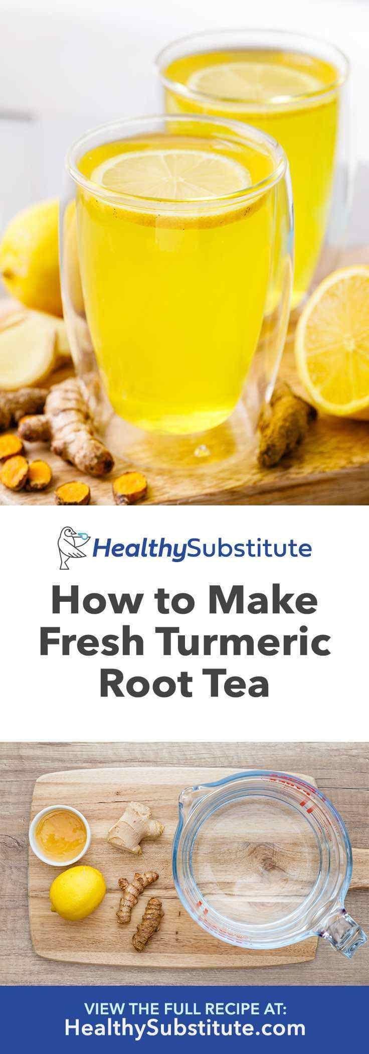 How To Make Fresh Turmeric Tea Using Fresh Turmeric Root Easy Healthy Substitute Wickedspatula Paleo Paleorecipes Lowcarb Lowcarbrecipes Coles Cuisine