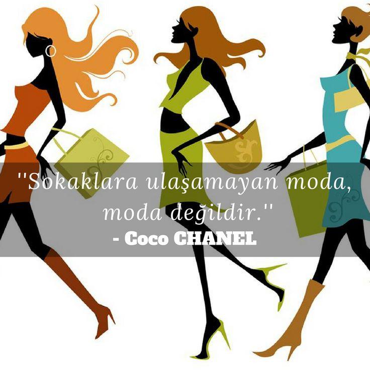 Sokaklara ulaşamayan moda, moda değildir. - Coco Chanel  #buenoshoes