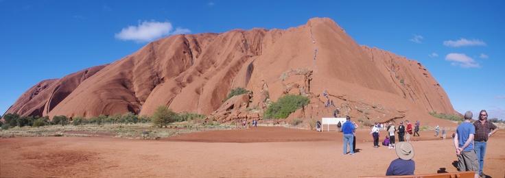 Ularu NT,  the base of the climb.