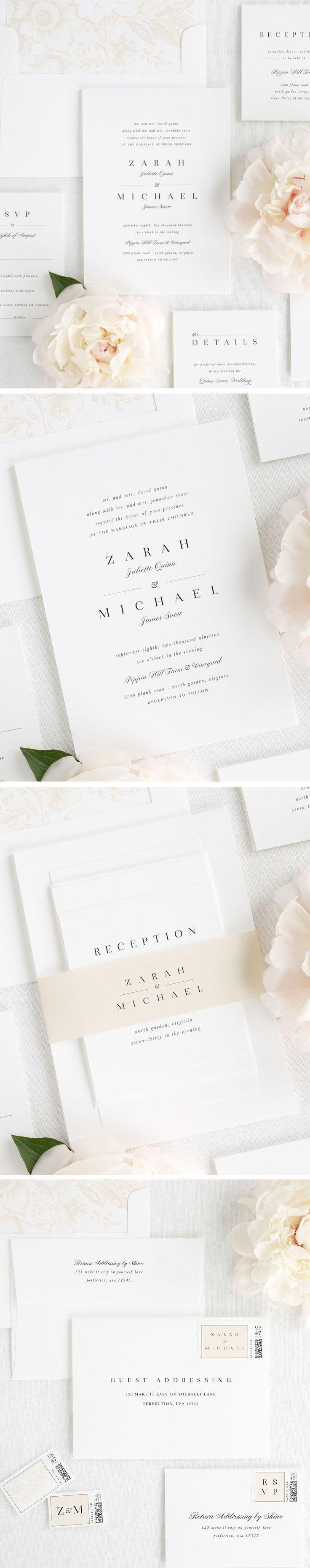 Design your own wedding dress for fun  Zarah Wedding Invitations  Wedding invitations  Pinterest