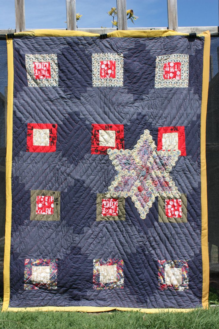 Modern quilt by Jess wheelahan