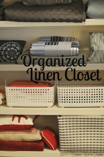 How to Create an Organized Linen Closet: Decor Ideas, Organizations Linens Closet, House Organizations, Stuff Ideas, Baby Girls, Apartment Ideas, Bathroom Decor, Honey We R, Decoratingrenov Ideas